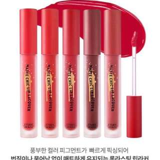 Etude House x Red Velvet Matte Chic Lip Lacquer in OR202
