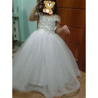 3 y/o Little Bride Gown