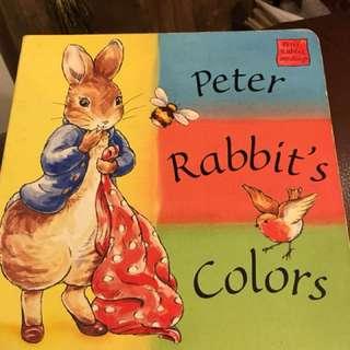 🚚 比得兔顏色翻頁書