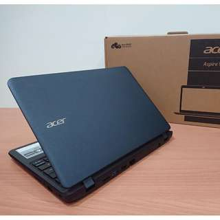 【全新品】【11.6吋小筆電】宏碁 ACER ES1-132-C30B 四核心處理器+2G+32G 保固內 完整盒裝