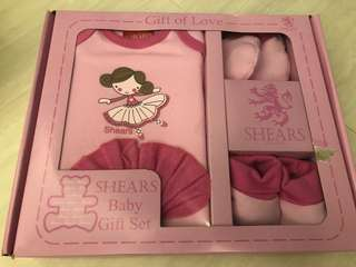 Baby girl gift set clothes