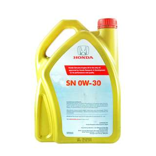 GENIUNE HONDA ENGINE OIL FULLY SYNTHETIC SN 0W-30 4L