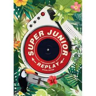 SUPER JUNIOR 8th Album Repackage REPLAY SPECIAL EDITION