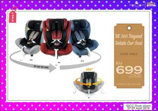RK 360 Beyond Rotate Carseat