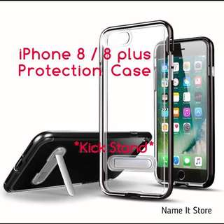 iPhone 8/ 8plus Protection Case with kick stand