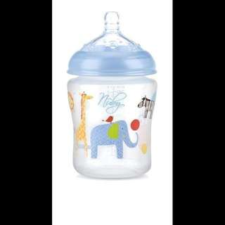NUBY BABY BOTTLE (BLUE)