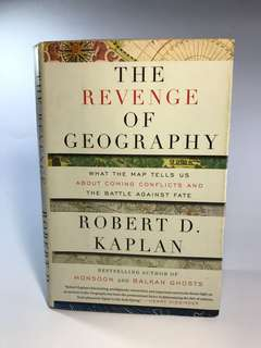Rare Book! The Revenge of Geography - Robert D. Kaplan