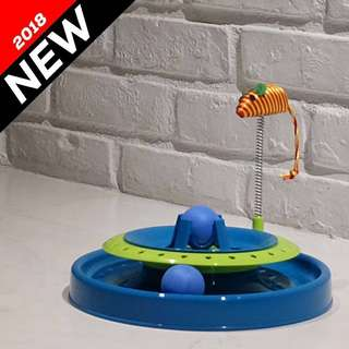 """""""Spin n Rat"""" Cat Hunting Toy"""