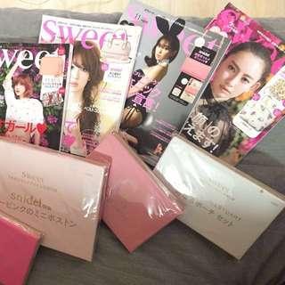 Sweet 日本雜誌附錄