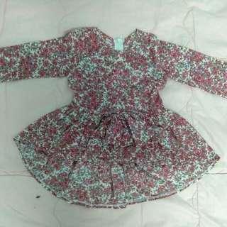 Baju Kurung Peplum (1years)