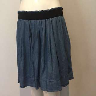 SABA denim style skirt - with pockets!