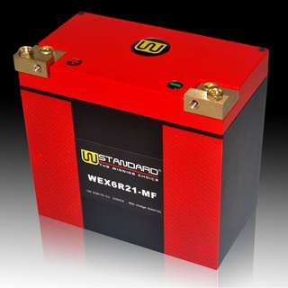 W-STANDARD Motorcycle lithium battery WEX6R21-MF Start the power supply 21Ah BMW Harley