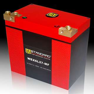 W-STANDARD Motorcycle lithium battery WEX6L27-MF the power supply 27Ah Harley