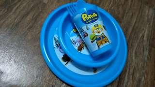 Pororo - Kids Meal set (BLUE)