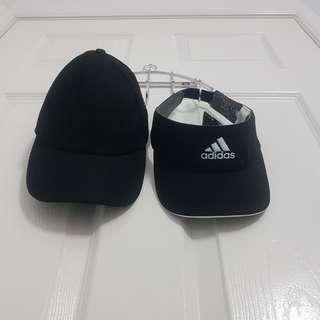 Black Cap and Visor