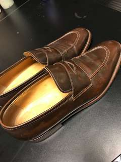 David Scott Genuine Leather shoes in very good condition