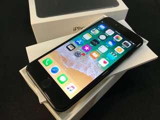 消光黑iPhone7 128G 盒裝 高雄面交