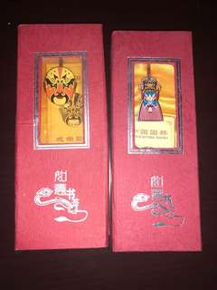 Chinese Opera Bookmarks