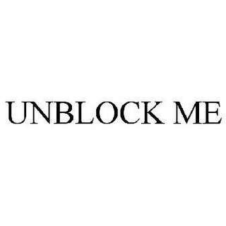 Unblock from grup The Body Shop