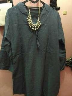 Paket bluse+pashmina senada