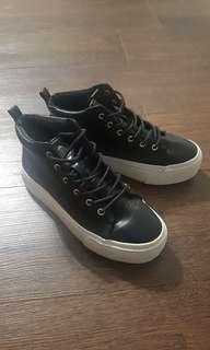 H&M Black Platform Shoes