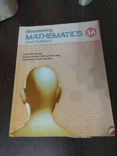 Discovering Mathematics 3A Textbook