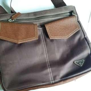 066146ff52 Prada Nylon Messenger Bag