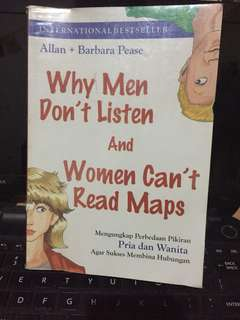 Why Men Don't Listen and Women Can't Read Maps (Bahasa)