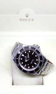 Rolex Oyster Perpetual Black No-Date Submariner Wristwatch