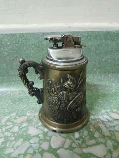 Antique Pewter Lighter