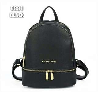 Michael Kors Backpack Black Color