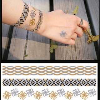 Gold Tattoo - Bracelets