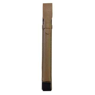 Leather Apple Pencil Case - Buffalo Brown