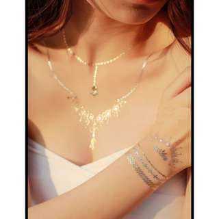 Gold Tattoo - necklace
