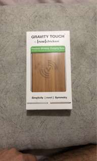 Gravity touch premium wireless charger