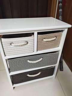 Basket drawers room organizer storage