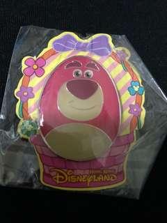 香港 迪士尼 徽章 Disney Pin 花旦 Lotso 勞蘇