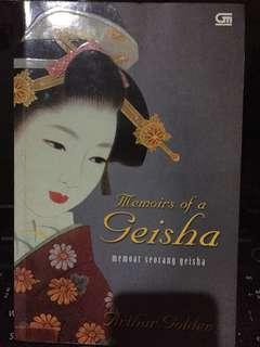 Memoirs of Geisha -Arthur Golden (bahasa)