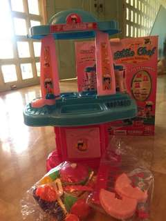 Little Chef 4 in 1 Modern Kitchen for Toddler