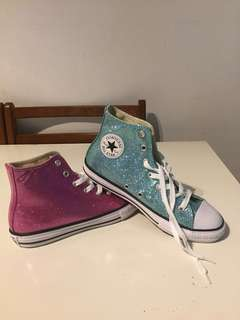 Brand New Girl's Converse Shoes