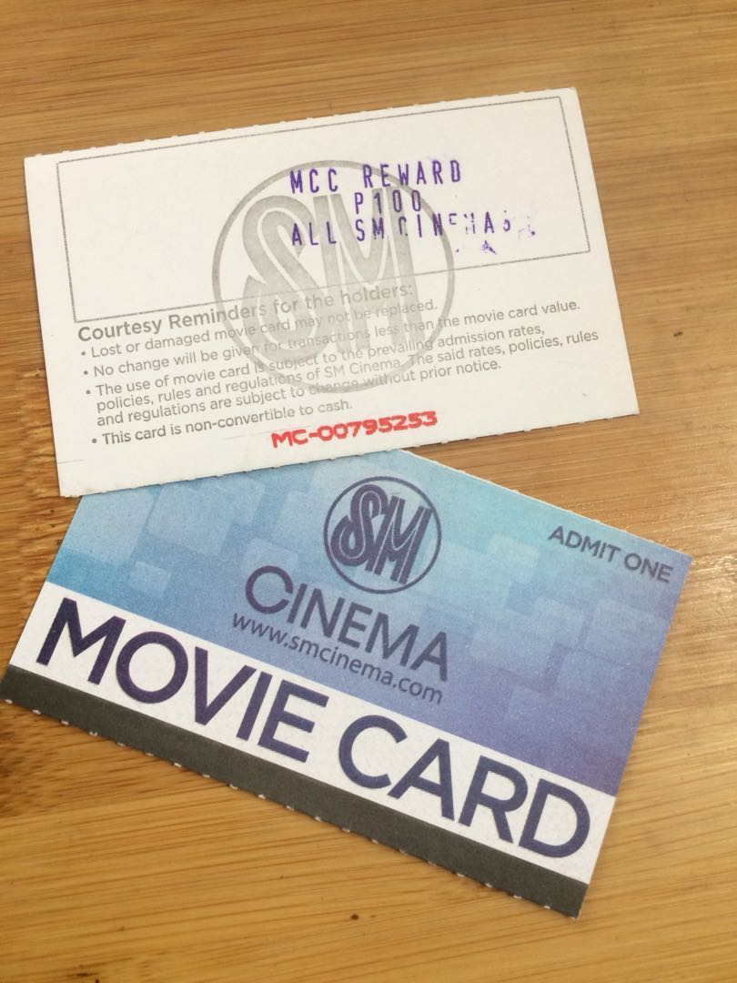 200 pesos worth of sm movie card ticketsvouchers gift cards 200 pesos worth of sm movie card ticketsvouchers gift cards vouchers on carousell reheart Image collections