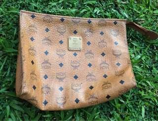 MCM clucth bag