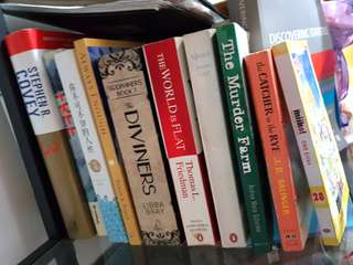 Books, Fiction & Non-fiction, books on business management and educational books