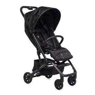 Mini stroller in black