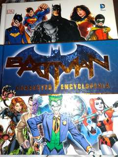 DC CHARACTER BOOK