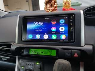 200mm stock toyota Pioneer headunit