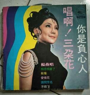 楊燕唱黑膠唱片