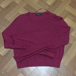 Bershka Cropped Sweater