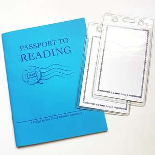 GIVEAWAY | reading book and cosmo card sleeve