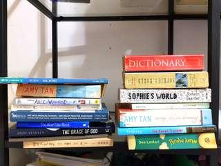 Books, Fiction, Non-Fiction